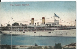 Theodore Roosevelt No 574. Used Acmegraph Co. Chicago 1900's Front & Back Shown - Steamers
