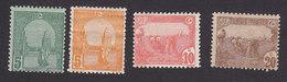 Tunisia, Scott #30-34, 38, Mint Hinged, Scenes Of Tunisia, Issued 1906 - Tunisia (1888-1955)