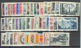 France - Année Complète Neuve 1955 ** Comprenant 46 Timbres - Frankreich