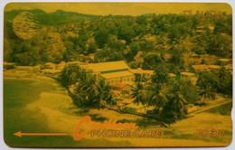 St Lucia Phonecard EC$10 9CSLA Coast - Saint Lucia