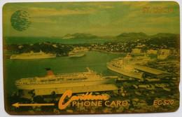 St Lucia Phonecard EC$20 9CSLB Port - Saint Lucia