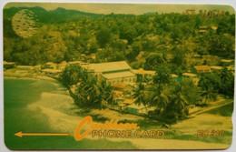 St Lucia Phonecard EC$10 13CSLB Coast - Saint Lucia