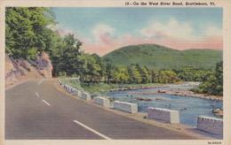 ETATS-UNIS--RARE---BRATTLEBORO--on The West River Road,brattleboro  VT.--voir 2 Scans - Etats-Unis