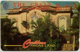St Lucia Phonecard EC$40 The Great House Restaurant 17CSLB - Saint Lucia