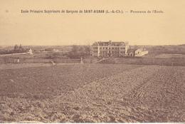 BE17-  SAINT AIGNAN DANS LE LOIR ETCHER  ECOLE SUPERIEURE PANORAMA ECOLE - Saint Aignan