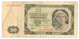 Poland 50 Zlot. 1948, G. - Poland