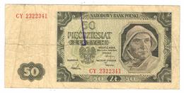 Poland 50 Zlot. 1948, G. - Polen