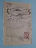 Guérriat-Degraux Mariembourg ( Factuur / Tax ) > Tichon : Anno 1925 ! - Petits Métiers
