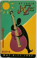 St Lucia EC$10 Jazzfest 97 146CSLD - Saint Lucia