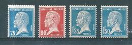 France Type Pasteur Timbre De 1923/26  N°177/78 + 180/81  Neuf * Cote 54€70 - 1922-26 Pasteur