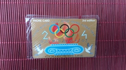 Olympic Gaes Phonecard New With Blister Only 1000 Made 2 Scans Rare - Sport