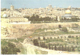 CARTOLINA JERUSALEM X ITALIA - Israele