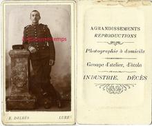 CDV Dragon? Du 13e R-photo C. Prud'homme à Lure-photographie A Domicile, Industrie, Décès... - Guerre, Militaire