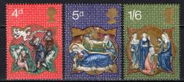 GRAN BRETAGNA - 1970 - NATALE: MINIATURE DEL XIII SECOLO - NUOVI MNH - Neufs