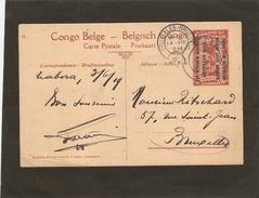 """1919 Entier Postal  Torpilleur """"Netta"""". - Ruanda-Urundi"""