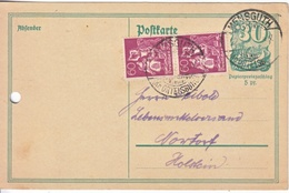 GERMANY INFLATION POSTAL CARD - Germany