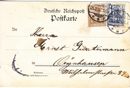 GERMANY  POSTAL CARD  GRUSS  AUS HERFORT? - Germany