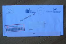 Belgique - Commission Européenne - European Commission - LRAR Pour La France Oblitérée Du 24/04/2015 - Altri