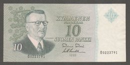 Finland 10 Markkaa 1963 O0223791 XF - Finland