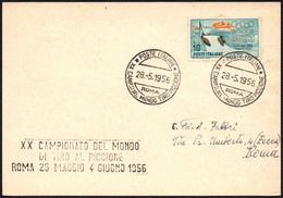 SHOOTING - ITALIA ROMA 1956 - CAMPIONATO DEL MONDO DI TIRO AL PICCIONE - Tiro (armi)
