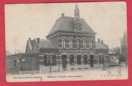 Berchem-Sainte-Agathe - Maison Et Ecole Communales ( Voir Verso ) - St-Agatha-Berchem - Berchem-Ste-Agathe