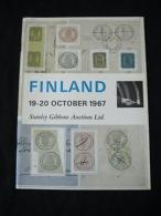 STANLEY GIBBONS AUCTION CATALOGUE 1967 FINLAND - Literatura