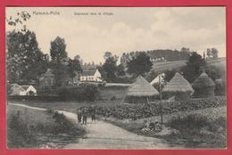 Hamme-Mille - Descente Vers Le Village ... Meules De Foin - 1913 ( Voir Verso ) - Beauvechain