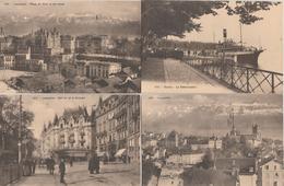 17 / 6 / 84  -  LOT  DE  11  CPA  DE  LAUSANNE  (VD )  Toutes Scanées - Cartes Postales