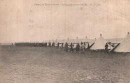 21 CHAMP DE TIR DE CHENOVE COMPAGNIE REVENANT DU TIR CIRCULEE 1906 - Manoeuvres