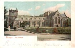 PAYS DE GALLES BANGOR THE CATHEDRAL CIRCULEE 1904 - Caernarvonshire