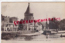 33 - LIBOURNE- QUAI SOUCHET  LA TOUR DU GRAND PORT - SABY FRERES 1933 - Libourne