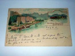 Cartolina Lago Maggiore - Baveno - Grand Hotel Bella Vista 1909 - Verbania