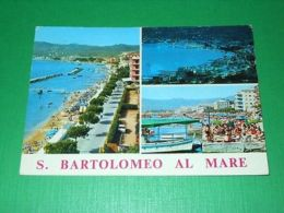 Cartolina S. Bartolomeo Al Mare - Vedute Diverse 1975 - Imperia