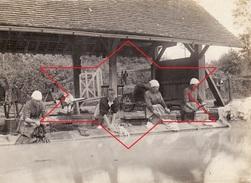 Photo 1898 SAINT-SYLVAIN - Lavoir Du Béquet, Lavandière (A172) - Frankreich