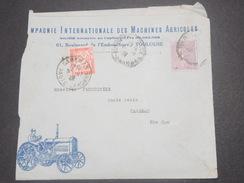 FRANCE - Type Semeuse Perforé CI MA Sur Enveloppe Commerciale De Toulouse Pour Caraman Et Taxée En 1929 - L 8324 - Perforés