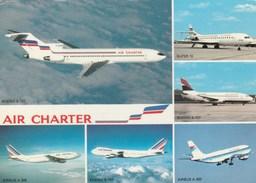 Aviation - CPM - Air Charter - Filiale D'Air France Et D'Air Inter - 1946-....: Ere Moderne