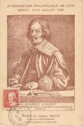 D30158 CARTE MAXIMUM CARD 1936 FRANCE - JACQUES CALLOT PAINTER PRINTMAKER CP ORIGINAL - Gravures