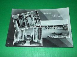 Cartolina Saluti Da Canosa Di Puglia - Vedute Diverse 1957 - Bari