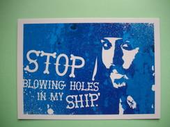 CARTE - POSTCARD  - JOHNNY DEPP  -  Pirate Des CARAIBES  -  The Pirates Of The CARIBBEAN  -  Film Américain  - - Manifesti Su Carta