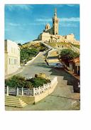 Cpm - 13 - MARSEILLE - NOTRE DAME DE LA GARDE - Char Jeanne D'Arc- Voiture - N°11 Yvon - Notre-Dame De La Garde, Funicular Y Virgen