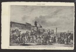D 75 - ANCIEN PARIS - 619 - Le Cortège Du Boeuf Gras Au Pont-Neuf - Carnaval De 1840 - France