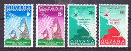 Guyana 1968 Christmas / Space 4v ** Mnh(35997) - Guyana (1966-...)