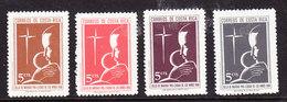 Costa Rica 1968 Christmas 4v ** Mnh (35997A) - Costa Rica