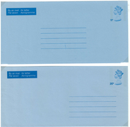Grossbritannien, 2 Air Letter, Aerogramme **,  11 P + 20 P - Luftpost & Aerogramme
