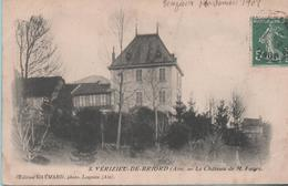 VERIZIEU-de-BRIORD - Le Chateau De M. Favre - - Francia