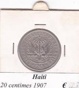 HAITI   20 CENTIMES  ANNO 1907  COME DA FOTO - Haiti