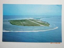 Postcard Gan Maldive Islands Indian Ocean Aerial View My Ref B11286 - Maldives