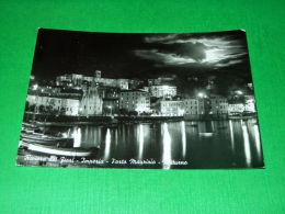Cartolina Riviera Dei Fiori - Imperia - Notturno 1962 - Imperia