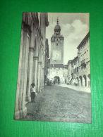 Cartolina Castelfranco Veneto - Interno Del Castello 1917 - Treviso