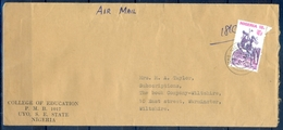 J171- Postal Used Cover. Posted From Nigeria To England. UK. - Nigeria (1961-...)